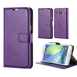 Samsung Galaxy J5 Wallet Case - Purple