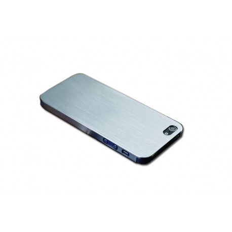 low priced 9d396 a3bf5 Aluminum Alloy Bumper Case for Apple iPhone 5/5S - Silver