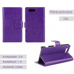 Sony Xperia Z3 Compact Wallet Case - Purple